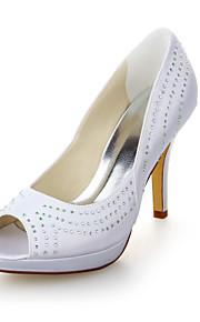 Chaussures de mariage - Blanc - Mariage / Habillé - Talons / Bout Ouvert / A Plateau - Sandales - Homme