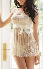 Women Chemises & Gowns Nightwear , Core Spun Yarn / Spandex