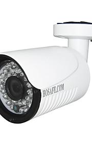 Vandtæt/Dag Nat/Motion Detection/PoE/Dobbeltstrømspumpe/Fjernadgang/IR-klip/Plug and play - Udendørs - HOSAFE - Kugle - IP-kamera