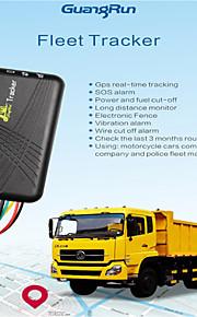 jm06 auto GSM GPRS voertuig / slimme gps tracker auto-tracking voor auto moto quad-band