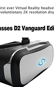 Editison vanguardia pantalla de realidad virtual 3glasses d2