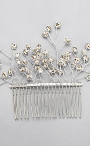 Celada Peinetas Boda / Ocasión especial Rhinestone / Aleación Mujer / Niña de flor Boda / Ocasión especial 1 Pieza