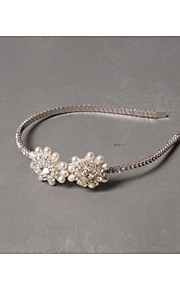 Women's Rhinestone / Imitation Pearl Headpiece - Wedding / Special Occasion / Casual Headbands 1 Piece