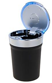 estilo de la taza portable universal llevó Cenicero para el uso del automóvil (1 x CR2032)