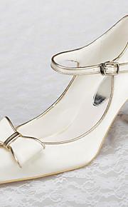 Chaussures de mariage - Ivoire - Mariage / Bureau & Travail / Habillé / Soirée & Evénement - Talons / Bout Pointu / Bout Fermé - Talons -