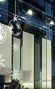Christmas Window Sticker Contemporary , Art Deco 42cm