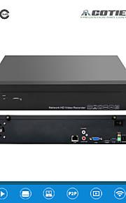 cotier®9ch 1.5u 2hdd port / 960p / HD / p2p sky / NVR N9 / 1.5u-2h
