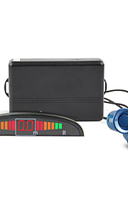 dearroad автомобиль вел парковки спереди резервного копирования зонд радиолокационную систему двойного процессора и подсветки дисплея с 4