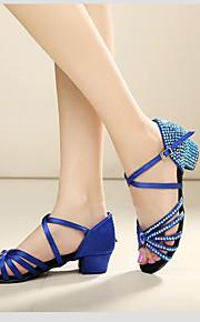 Zapatos de baile ( Azul / Rojo / Otros ) - Danza latina / Dance Sneakers / Moderno / Salsa / Flamenco / Samba - Personalizados -Tacón