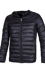 GRN® Men's Regular Parka Coat , Nylon Pure Long Sleeve