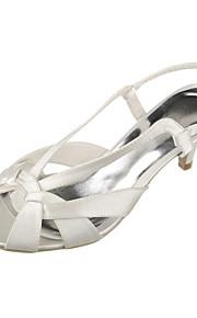 Chaussures Femme - Mariage / Extérieure / Bureau & Travail / Habillé / Décontracté / Soirée & Evénement - Blanc - Talon Bas -Confort /