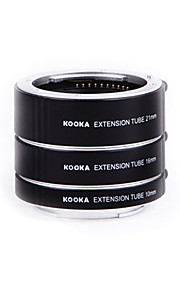 Kooka kk-SE47 af messing macrouitbreidingsbuizen voor Sony E-mount (10mm 16mm 21mm) camera