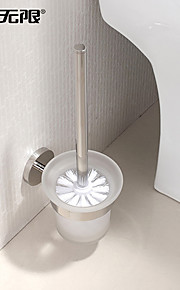 WeiYuWuXian® Stainless Steel Bright Polished Finish Toilet Brush Holder