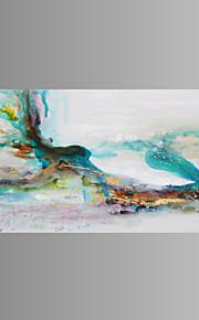 キャンバスセット 抽象的な風景画 クラシック / 欧風 / Modern / トラディショナル,1枚 横長 版画 壁の装飾