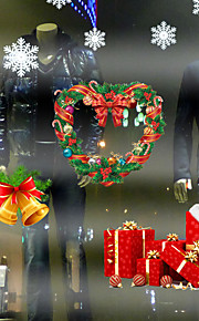 3D Wall Stickers Wall Decals, Merry Christmas Decor Mural PVC Wall Stickers