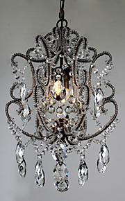 Kattokruunu - Metalli - Traditionaalinen/klassinen / Vintage / Retro - Kristalli