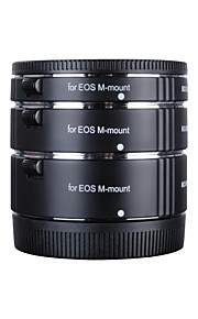 Kooka kk-cm47 koper macro af verlengbuizen voor close-up voor canon eos m (10 mm 16 mm 21 mm) spiegelloze camera's