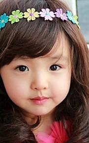 Корея бутик детской ювелирных красочные цветы волос группа 2