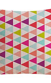 Stylish Colorful Cotton/Linen Decorative Pillow Cover