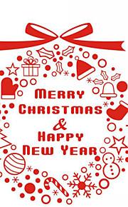 Christmas Window Sticker Contemporary , Art Deco 48cm*42cm