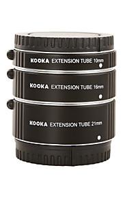 Kooka kk-nm47a tubo di prolunga in alluminio af per nikon 1 serie (10mm 16 millimetri 21 millimetri) telecamere