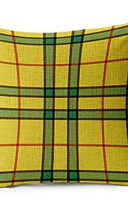 Stylish Geometric Cotton/Linen Decorative Pillow Cover