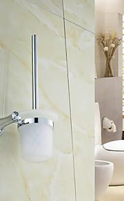 Porte Brosse de Toilette , Contemporain Chrome Fixation Murale