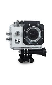 """/ 170 ° obiettivo grandangolare ricco camme sportivo gs385 / impermeabile 30m / 1080p HD video pixel / 12.0Mega pixel / """"schermo a"""