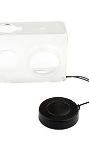 pannovo plast + objektivdækslet til Xiaomi yi gennemsigtig