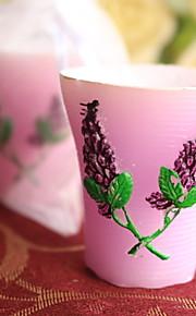 Bougies ( Lilas ) Thème de plage / Thème de jardin / Thème asiatique / Thème floral / Thème de papillon / Thème classique / Fête prénatale