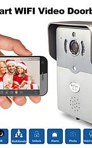 besetey®dbv01p smarte wifi video dørklokken HD720p ir nat visning fuld duplex lyd trådløst kamera til smart telefon pad