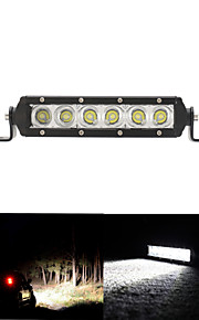 30W Cree Led Light Bar Flood Work Light 4WD ATV Off-road Driving Lamp