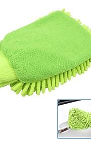 tirol microfibra t22448 guante de lavado de coches chenille limpieza de coches lavado manopla