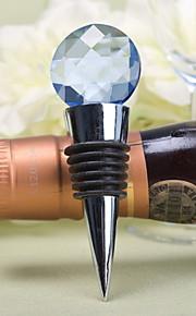 bouchon de bouteille bleue perle