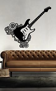 Musique / Forme Stickers muraux Stickers avion,vinyl 43*46cm