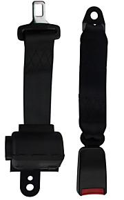 2 puntos del cinturón negro asiento de coche auto retráctil herramienta de función universal de alta calidad de la moda dearroad