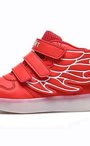 Girls' Shoes Outdoor / Athletic Customized Materials Fashion Sneakers Fall / Winter Comfort / Square Toe Flat Heel Multi-color