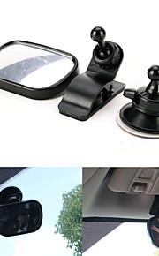 iztoss mini bil Baby spejl 2 i 1 / bil bag Baby sikkerhed konveks spejl til bil justerbar Baby spejl