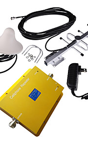 LCD Display GSM950 900MHz Mobile Cell Phone Signal Booster with Ceiling and Yagi Antenna Kit