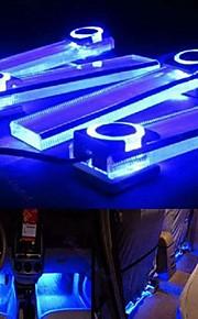 ziqiao 4 in 1 12v auto atmosfeer lamp kosten leidden interieur vloer decor licht