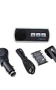 bluetooth håndfrit bilsæt klippet på visir bil solen, kan Bluetooth 3.0 understøtter to telefoner samtidigt