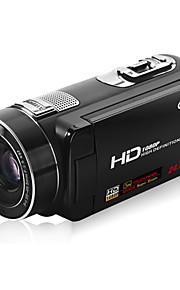 "ordro® HDV-Z80 1080p digitalt videokamera / 120x digital zoom&10x optisk zoom / 3 ""touch-tft skærm"