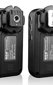 sidande WFC-02c draadloze flitser trekker 2.4 ghz 3 groepen 5 kanalen voor Canon 5D3 6d 60d 7d 70d 600d 700d 100d eos dslr