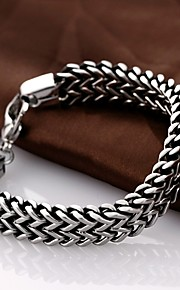 Personality Retro Men's Stainless Steel Bracelet