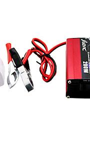 NAOVIC 12V TO 220V 200W  Car Power Inverter USB Solar Battery Charger