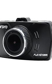 CAR DVD - 12 MP CMOS - 4608 x 3456 - Video ud / G-sensor / Vidvinkel / 1080P / Anti-stød