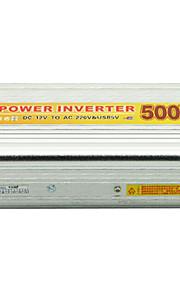 500w 12v inversor de corriente para automóvil a 220V