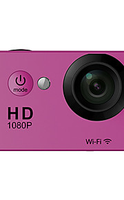 OEM W9 Sportskamera/GoPro Style-kamera 2 5MP 640 x 480 / 2592 x 1944 / 3264 x 2448 / 3648 x 2736 60fps / 30fps Nej +1 / -1 / 2 / 0 / -2