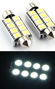 8 smd geleid CANbus 214 569 interieur lamp licht 43mm (2 stuks)