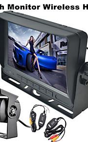 renepai® 7 inch monitor wireless 170 ° hd bus auto achteruitrijcamera + bus high-definition groothoek waterproof camera cmd